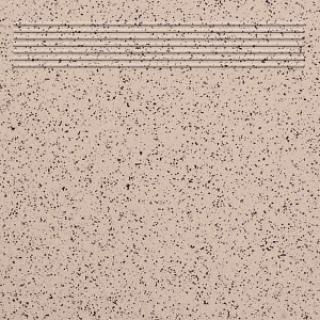 Gres A 100 Керамический гранит бежевый ступень, 30x30