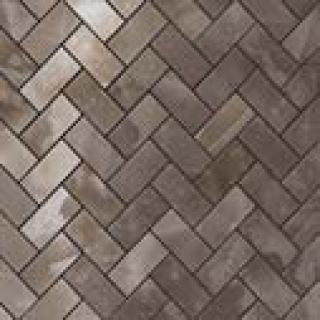 Black Agate Herringbone Mosaic