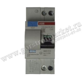 Автомат дифференц. тока DSH941R C25/30MA тип AC