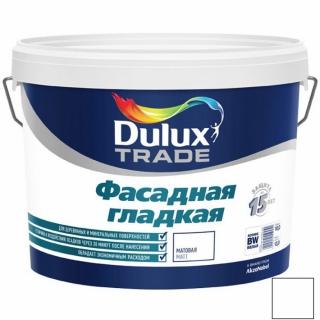 Краска Dulux TRADE фасадная гладкая База BW