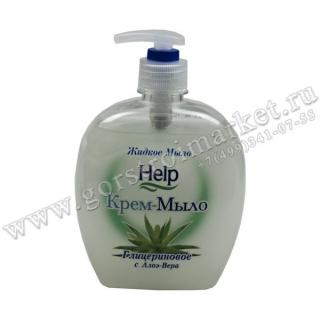 Жидкое мыло Help Глицериновое с дозатором
