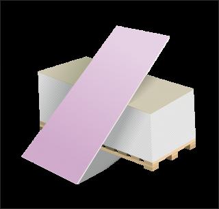 Гипсокартон огнестойкий (ГКЛО) (2500Х1200) 12.5ММ ВОЛМА